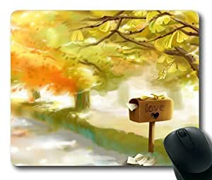 Armener Rectangle Mouse Pad With Love Mailbox