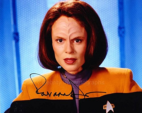 ROXANN DAWSON as Lt. B'Elanna Torres - Star Trek: Voyager GENUINE AUTOGRAPH from Celebrity Ink