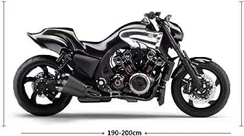 cubierta para lluvia Fundas para motocicleta para el hogar y el aire libre protecci/ón contra el polvo scooter antipolvo Juntful antiUV para motocicleta