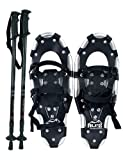 Search : ALPS Performance Snowshoes with Pair Antishock Snowshoes Poles + Free Carrying Tote Bag