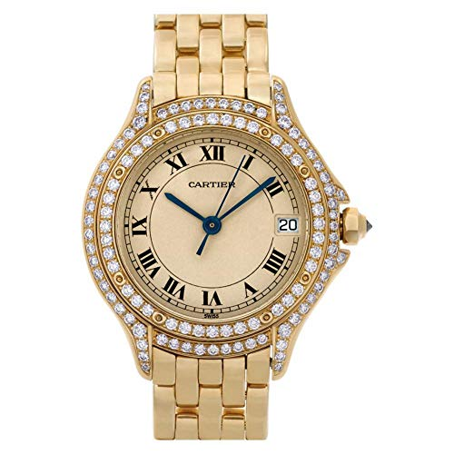 Cartier Cougar Quartz Female Watch C887907 (Certified Pre-Owned) ()