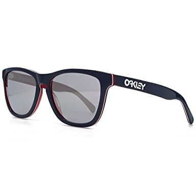 Image Unavailable. Image not available for. Colour  Oakley Global Frogskin  LX Sunglasses in Navy Chrome Iridium - OO2043 05 ... 11a41eb6aa