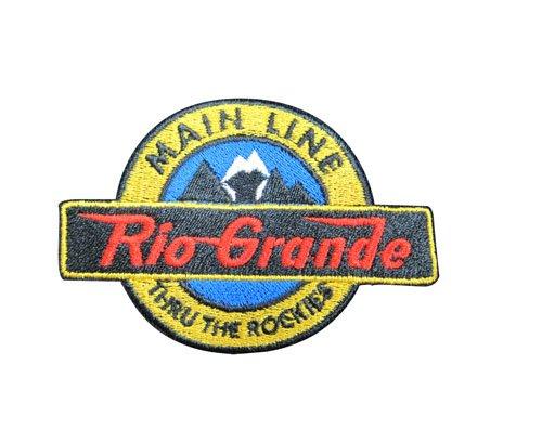 Denver and Rio Grande Main Line Long Sleeve Embroidered Denim den12LS