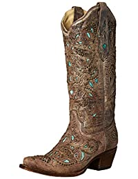 Corral Womens A1099 100% Leather Boot