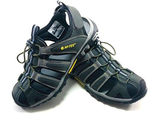 Hi-Tec Cove Sandals Juniors Black/Charcoal/Super Lemon Schuhgröße 35 2017 Sandalen