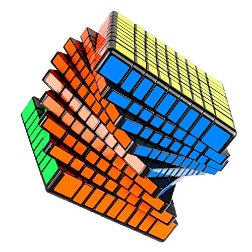 JIAAE 9X9 Professional Competition Rubik's Cube Children Puzzle Colorful Rubik Toy by JIAAE (Image #1)
