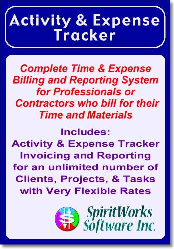 Activity & Expense Tracker [Download] by SpiritWorks Software Inc.