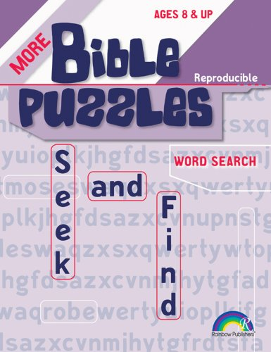 Download More Bible Puzzles -- Seek & Find ebook