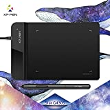 XP-Pen G430S 4 x 3 inch Graphic Drawing Tablet for OSU! gameplay with our Battery-free stylus design(Black)