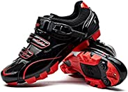 Santic Cycling Shoes Men SPD Mountain Bike Lock Shoes MTB Cycling Accessories Breathable Self-Locking Shoes Ro
