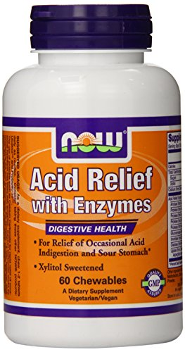Foods Relief Chewable Enzymes Lozengeenges