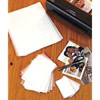 Laminating Sheets, 100 Piece Triple Pack with 30 Letter Sheets, 9 X 11-1/2 40 Photo Sheets, 4-1/4 X 6-1/8, 30 Name Card Sheets, 2-3/8 X 3-3/4