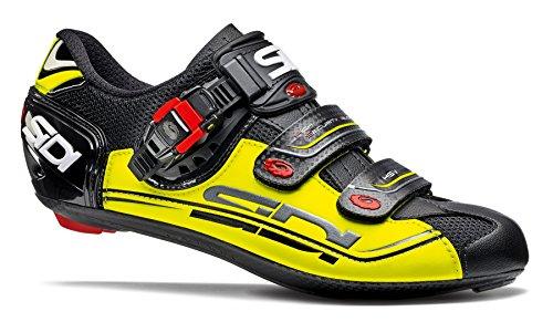 Sidi Genius 7 Fahrradschuhe Herren black/yellow Größe 47 2017 Mountainbike-Schuhe