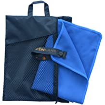 Sunland Microfiber Towel Ultra Compact Absorbent and Fast Drying Travel Sports Towels
