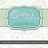 Baby's First Year Undated Keepsake Calendar with Milestone...
