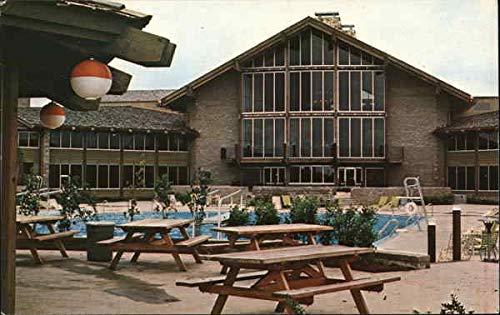 Salt Fork Lodge & State Park Cambridge, Ohio Original Vintage Postcard