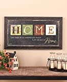 Home Kitchen Decor Best Deals - Premium Home Country Inspirational Marla Rae Hanging Wall Art By Besti - Primitive Americana Decorative Plaque - Rustic Style Décor Sign With Saying - Excellent Quality Polystyrene