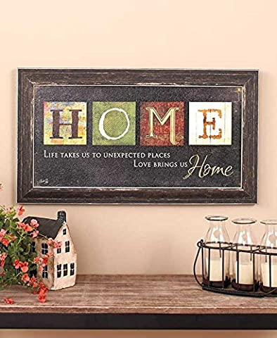 Premium Home Country Inspirational Marla Rae Hanging Wall Art By Besti - Primitive Americana Decorative Plaque – Rustic Style Décor Sign With Saying – Excellent Quality (New House Plaque)