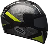 Bell Qualifier DLX MIPS Accelerator Full-Face Motorcycle Helmet (Gloss Hi-Viz Yellow/Black, Small)