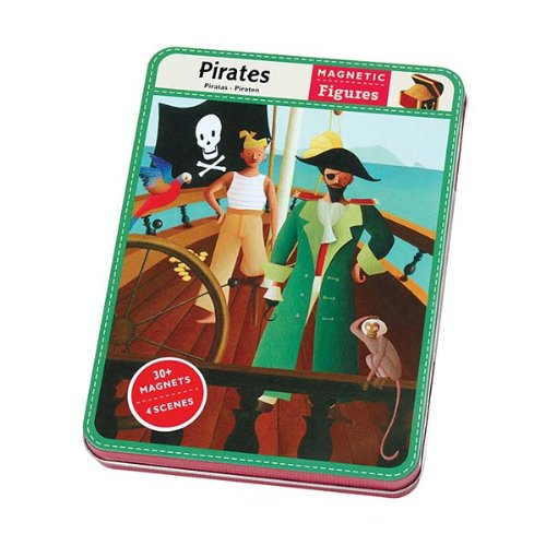 Mudpuppy Pirates Magnetic Figures ()
