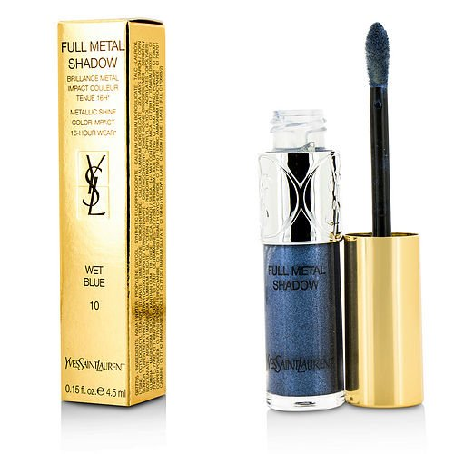 YVES SAINT LAURENT by Yves Saint Laurent Full Metal Shadow - #10 Wet Blue --4.5ml/0.15oz for WOMEN ---(Package Of 2)