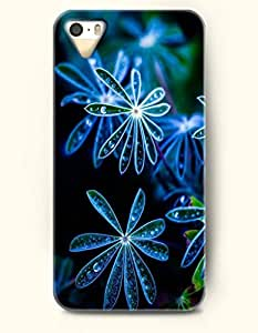 OOFIT iPhone 5 5s Case - Spring Mornig Grass With Dewdrop