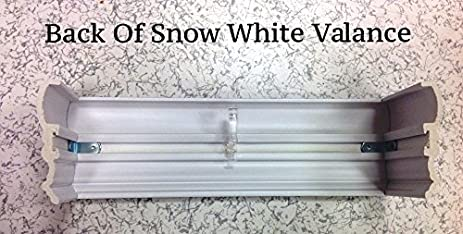 Amazon.com: Faux Wood Sidelight Blinds for Doors 2 Inch Slats Snow White Outside Mount 1 pair/2pcs 8