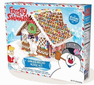 Frosty the Snowman Gingerbread House (Gingerbread Candy)