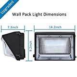 LEDMO 120W LED Wall Pack Light 15840LM 840W HPS/HID