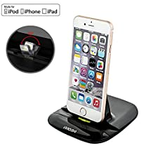 Docking Station, TurnRaise [Apple MFi6.4 Certified] Rugged Case Charger & Sync Cradle Docking Station for iPhone 6S Plus / 6S / 6 Plus / 6 / 5S / 5 / iPad Mini iPad Air Pro iPod