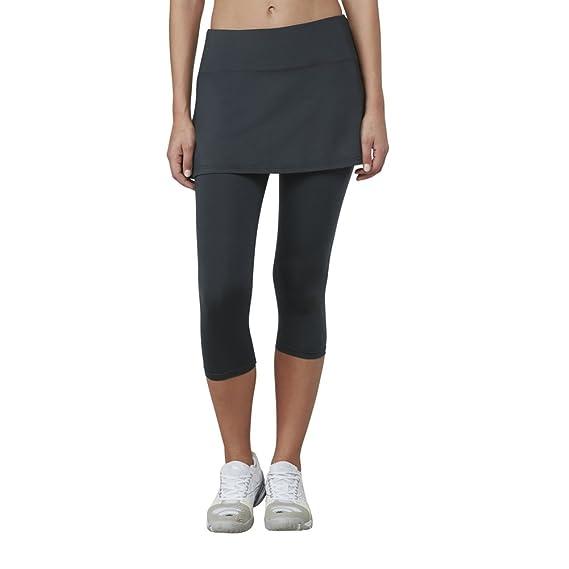 9fee3428bdbe Fila Women's Skort Comfort Waistband Capri Pants: Amazon.co.uk: Clothing
