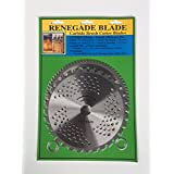 "2pk-- 8""--32t/80t - Combo 2 blade pack -- (1) Brush & Brambles & (1) Multi-Use Brush Specialty -- RENEGADE BLADE -- GS1 Barcoded Shelf Hanging Blister Pack-- Carbide Brush Cutter Blades, 203mm dia."