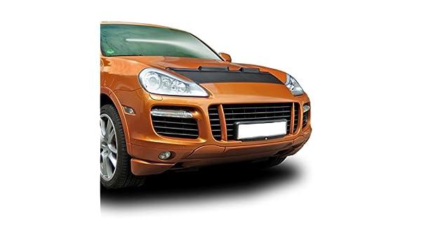 cuss479 - Coche capó máscara capucha Auto sujetador de piel Para Porsche Cayenne + Turbo (05 - 10): Amazon.es: Coche y moto