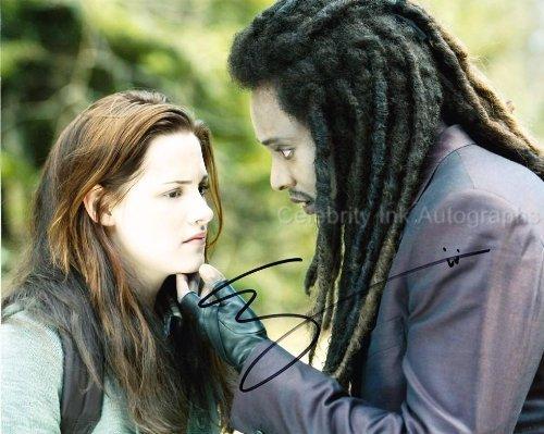 EDI GATHEGI as Laurent - Twilight Saga Genuine Autograph from Celebrity Ink