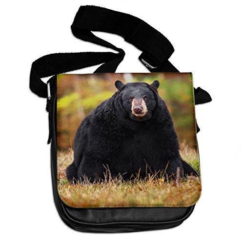 037 Bear Black Black Shoulder Black Shoulder Bear Animal Bear Animal Bag Bag 037 qacwH7