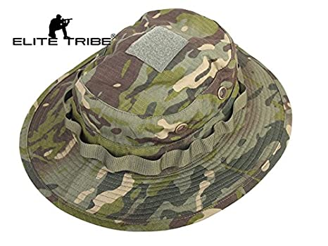 Image Unavailable. Image not available for. Color  Hunting Fishing Tactical Boonie  Hat Multicam Tropic 1d8b533bfdbe