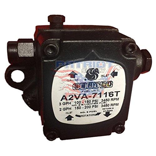 Suntec Fuel Oil Pumps (Suntec A2VA-7116T Bio Fuel Oil Pump Rated For B100 (100% Bio Fuel Compatible A2VA-7116))