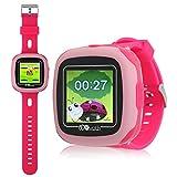 PHRtoy Smart Game Watch Kids,[Camera][Alarm Clock][Pedometer] [Games] Smart Watch - Nice Birthday Kids, Girls Boys (pink)