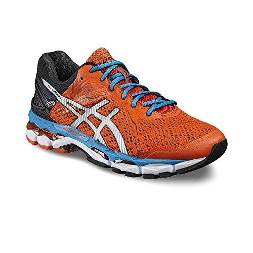 Gel Luminus–Zapatillas de running para hombre, color rojo/plateado/azul - flame/silver/blue je