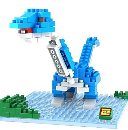 LOZ Diamond Blocks Jurassic Park Nano Block 180 Piece Building Set - Brachiosaurus