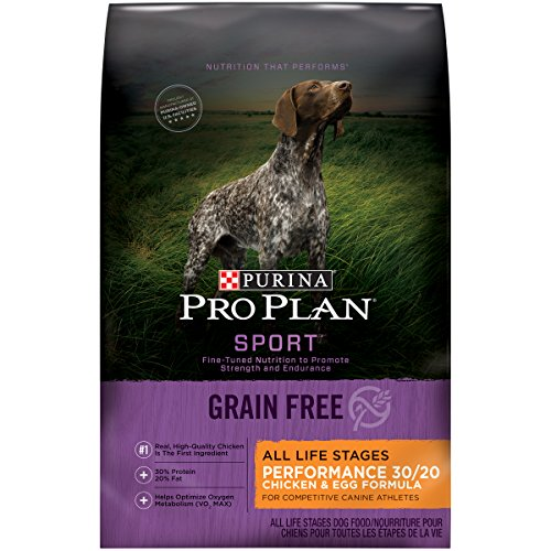 Purina Pro Plan SPORT All Life Stages Performance 30/20 Chicken & Egg Formula Dry Dog Food - (1) 24 lb. Bag