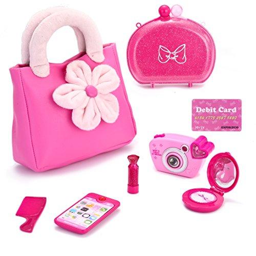 JOYIN Pretend Princess Purse Set My First Purse Toy for Little Girls