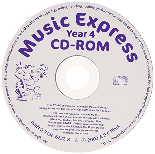 Music Express - Music Express Yr 4 Replacement CD-R by Helen MacGregor (2004-08-31)