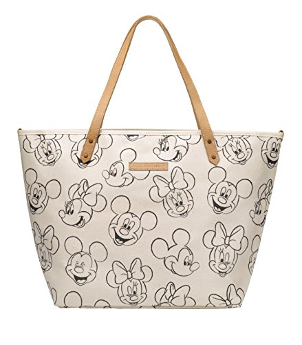 Petunia Pickle Bottom Sketchbook Mickey & Minnie Downtown Tote