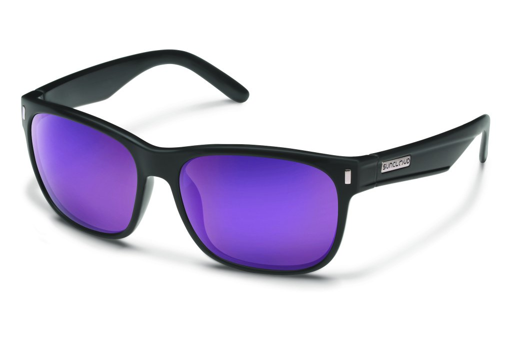 Suncloud Dashboard Polarized Sunglasses Blackened Tortoise Frame Brown Lens Smith Optics Suncloud
