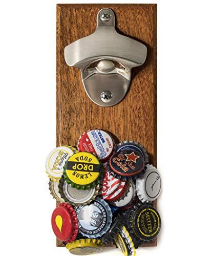beer bottle opener mounted - 2