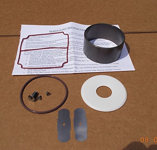 (Brownie's Third Lung Compressor Rebuild Kit #1)