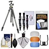 Vanguard Alta Pro 2+ 263AB 100 Aluminum Tripod with Alta BH-100 Ball Head & Case with Camera Accessory Kit
