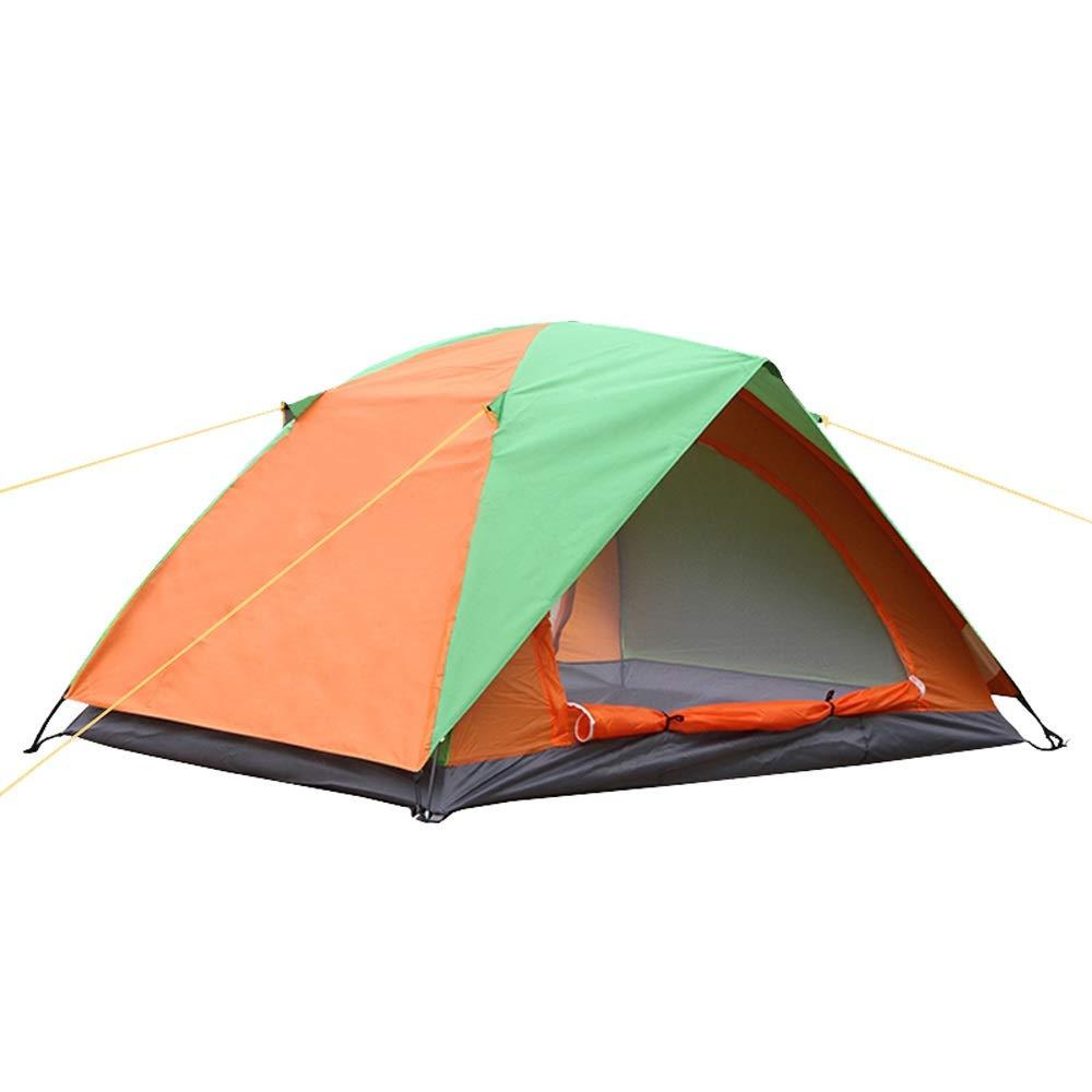 BLWX - Zelt Doppeldecker Doppeltür 2 Paar Zelte Winddicht Regendicht Camping Picknick Outdoor 200x150x110cm Zelt