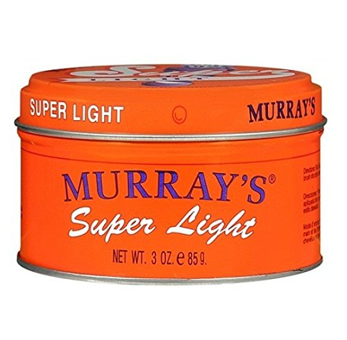 Murray's Light Pomade & Hair Dressing, Super Light, 3 oz. - 6 Pieces